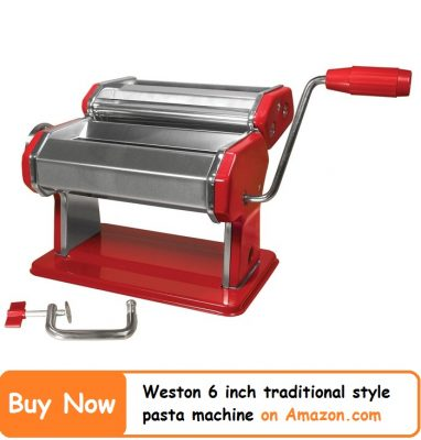 Weston-Roma-6-Inches-Traditional-Style-Pasta-Machine