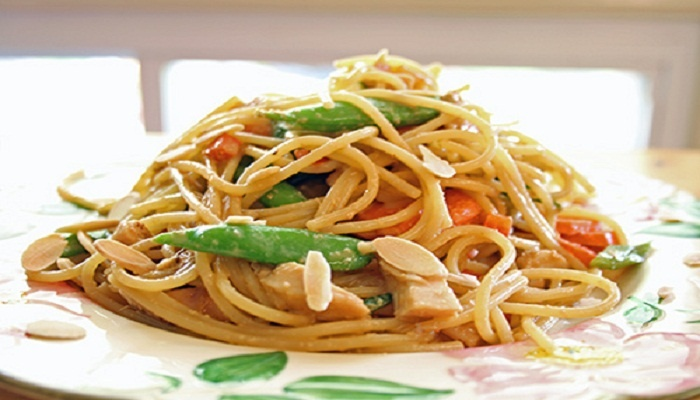 Asian Style Pasta Recipe