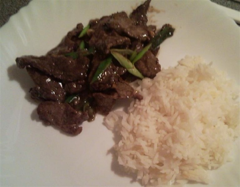 Fried Beef With Garlic and Pepper Recipe