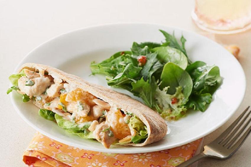 Grilled Vegetable Pita