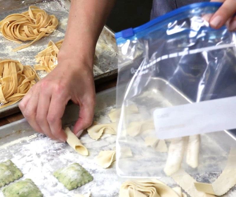 How to store fresh pasta