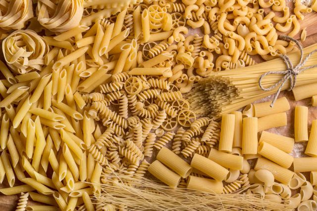 how to store dry pasta long term